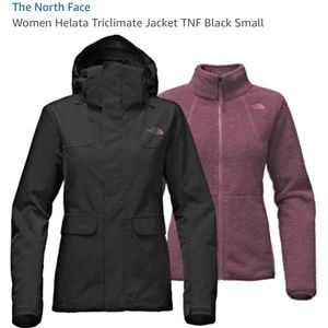 NORTH FACE NEW WOMEN'S HELATA TRICLIMATE JACKET